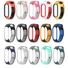 Armband Voor Xiaomi Mi Band 5 Sport Band Horloge Siliconen Polsband Kleur Waterdicht Smart Horloge Wrist Band
