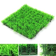 1pc 25x25cm Grass Mat Green Artificial Lawns Turf Carpets Fake Moss for Home