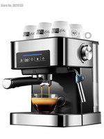 Household Espresso Machine 20bar Coffee Maker Machine Semi Automatic Cappuccino 220V Italian Steam Type Milk Frother Touch Panel