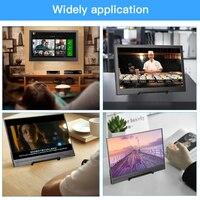 """עבור מחשב Eyoyo EM13H 13.3"""" QHD 2560x1440 2K IPS PC צג מסך המשחקים ניידים עבור צג LCD נייד PS3 PS4 HDMI מחשב (5)"""