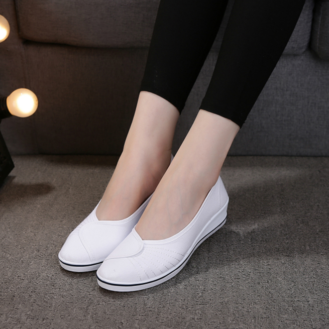 Sabot Hopital Nurse Shoes Women White Beauty Shoe White Zapatos De Enfermera Blanco Socas Hospitalares Zapatillas Zuecos