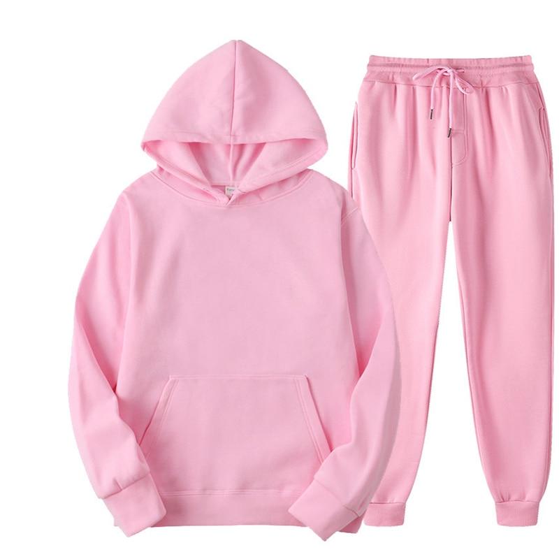Костюм женский спортивный Toppies, флисовая толстовка, спортивные штаны, одежда в стиле Харадзюку 1