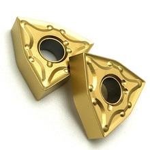 Hartmetall Einsätze WNMG080404 WNMG080408 VP15TF UE6020 Externe Drehen Werkzeug metall werkzeug drehen einfügen hartmetall cnc einfügen
