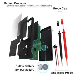 Image 5 - BSIDE multímetro Digital, probador analógico de pantalla EBTN, voltímetro DC AC, diodo de capacitancia, NCV Ohm Hz, indicador LED de voltaje en vivo
