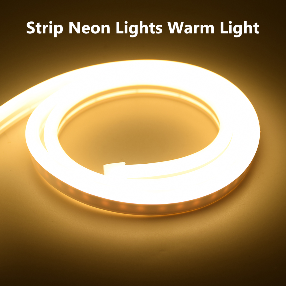 H4cb20e9911774f838b7af5ab68132a93K 6mm Narrow Neon light 12V LED Strip SMD 2835 120LEDs/M Flexible Rope Tube Waterproof for DIY Christmas Holiday Decoration Light