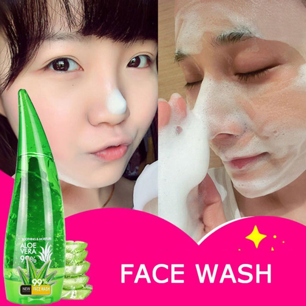 99% Aloe Soothing Gel Aloe Vera Hydrating Facial Mask Remove Soothing Care Skin Acne Facial Aloe Lotion Care Gel Profession W9J9