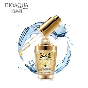 woman BIOAQUA 24K Gold Whitening