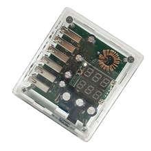 Dc10-30V Buck 5V 6 Usb Charger Automatic Identification Voltage Protection four light high voltage board blue dc10 29v