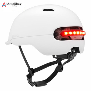 Image 5 - Electric Scooter Safety Helmet with Warning Light for Xiaomi M365 Pro Scooter Skateboard Ninebot Es1 E2 Mijia M365 Scooter Parts