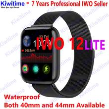SmartWatch KIWITIME IWO 12 LITE ECG Bluetooth SmartWatch 40mm 44mm Smart Band impermeabile pk Iwo max