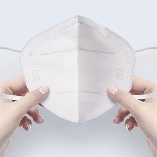 masque mascarillas FFP2 KN95 Dustproof Anti-fog And Breathable Face Masks Filtration Mouth Masks 5Layer Mouth Muffle Cover Mask 4
