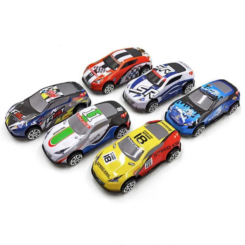 6 шт набор Детская игрушка гоночный автомобиль сплав железа в виде ракушки такси модель инерции рельс для автомобиля мини небольшой, Подаро...