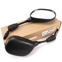 8mm 10mm espelhos retrovisores da motocicleta elétrica, para yamaha jog gt125, espelhos retrovisores laterais, peças & acessórios