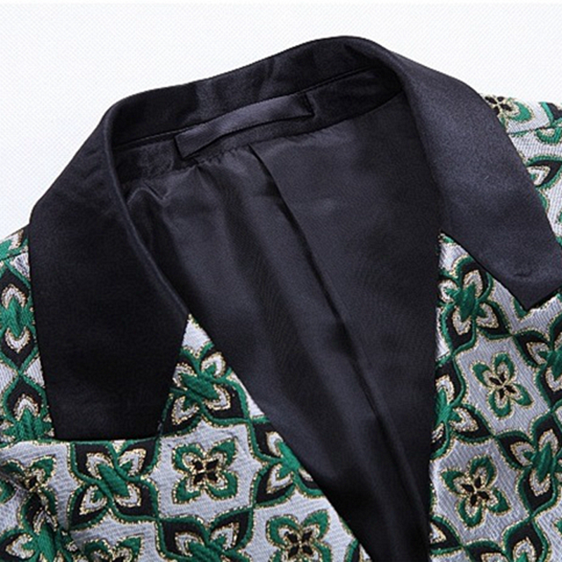 2019 новый модный мужской повседневный костюм весна и осень однотонный деловой мужской костюм мужской блейзер - 4
