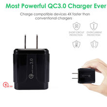 Universal USB3.0 Fast Charger 1 Port Quick Fast Charge Travel Adapter Wall Charger Adapter Portable US Plug(China)