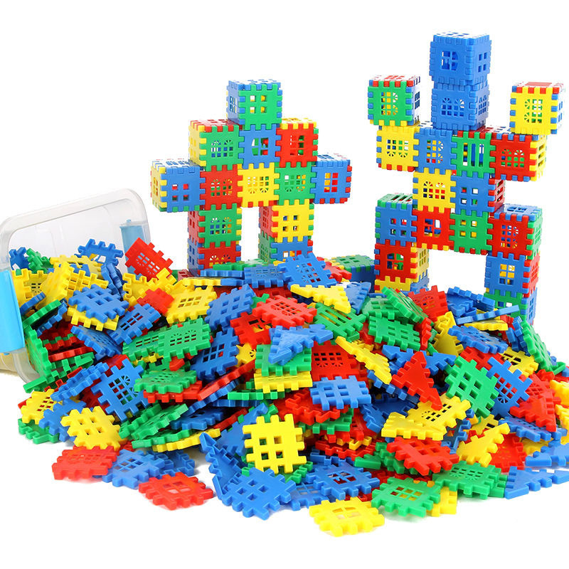 500/1000G Constructor Building Blocks Toys Develop Baby Creativity Imagination Learning Educational Classic Bricks Toys For Kids