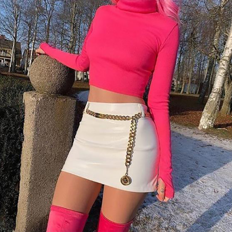 Women Fashion   Belt   Hip High Waist Gold Metal Chain Chunky Fringes Hanging Accessories Lady Female Party Beach Chain   Belt   New 1Pc