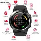 Noord Rand Smart Horloge Gps Bluetooth Telefoontje Smartwatch Mannen Vrouwen IP67 Waterdicht Hartslag Bloeddrukmeter Klok