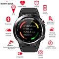 North Edge, умные часы, gps, Bluetooth, с функцией телефонного звонка, умные часы для мужчин и женщин, IP67, водонепроницаемые, с монитором сердечного ритм...
