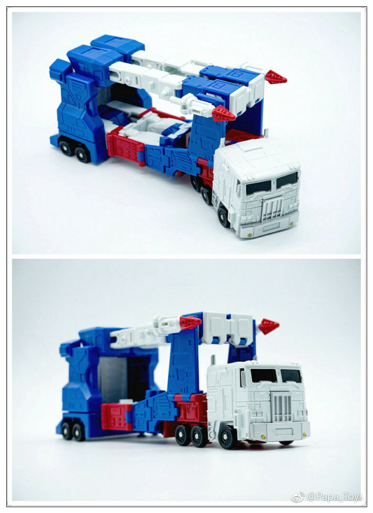 New Transformers PAPA TOYS PPT-05 Ultra Magnus mini Robot Action Figure In Stock