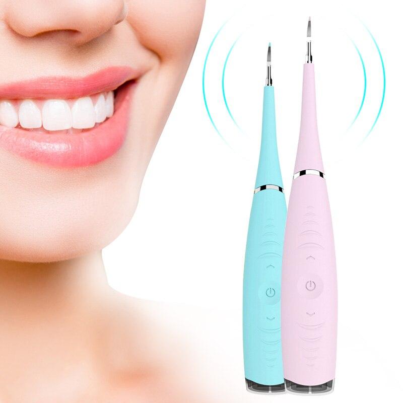 Портативный Электрический звуковой стоматологический скалер для удаления зубного камня от зубных пятен зубной камень инструмент стоматолога Отбеливание зубов Гигиена полости рта