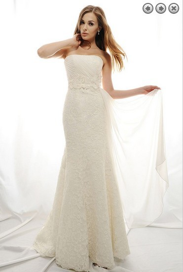 Free Shipping Maxi Dress 2016 Woman Dress Designer New Fashion White Long Plus Size Brides Lace Wedding Dresses Bridal Gowns