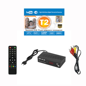 Image 5 - TV Tuner DVB T2 USB2.0 TV Box HDMI HD 1080P DVB T2 Tuner Receiver Satellite Decoder Built in Russian Manual For Monitor Adapter