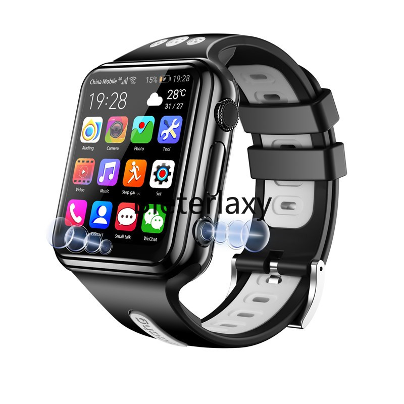 4G Smart Remote Camera GPS WI-FI Child Student Whatsapp Google Play Smartwatch Video Call Monitor Tracker Location Phone Watch image