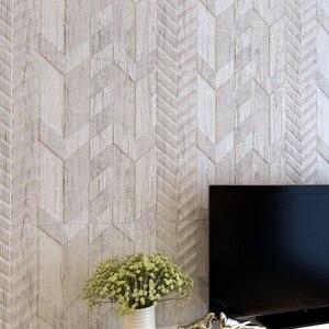 Naklejki ścienne 3d tapety salon dekoracja sypialni pokój stylizowane na drewno ziarno osobowość kreatywna naklejka antykolizyjna