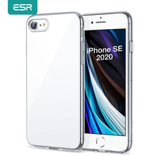 ESR for iPhone SE 2020 Case TPU Clear Cover for iPhone 12 12pro 12 Pro Max 11 Pro X XR XS Max 8 7 Plus 6s Transparent Case Funda