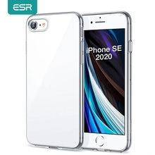 ESR iPhone SE 2020 kılıf TPU şeffaf kapak iPhone 12 12pro 12 Pro Max 11 Pro X XR XS Max 8 7 artı 6s şeffaf kılıf Funda