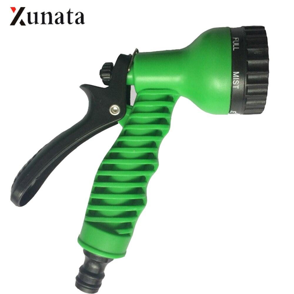 7 Pattern High Pressure Spray Gun Multifunctional Household Car Washing Sprinkler Nozzle Garden Watering Tool Water Hose Nozzle
