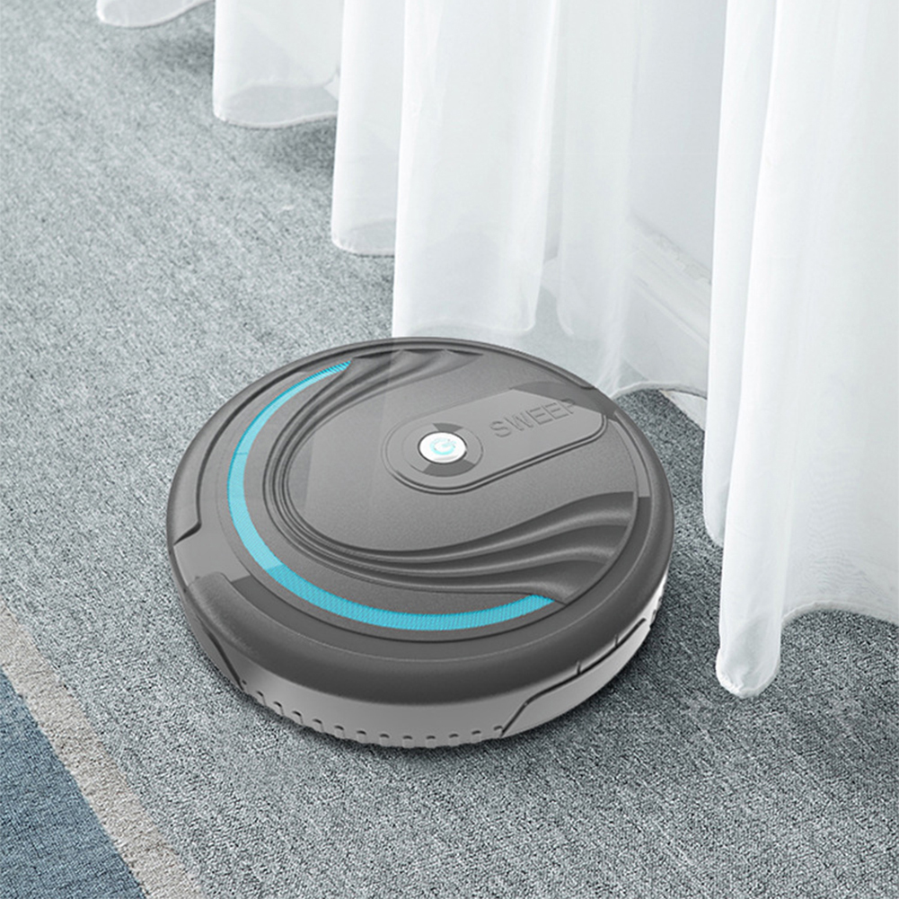 Hot Sale Round Automatic Vacuuming Sweeper Cleaning Robotic Child Kids Home Appliance Toy Durable Machine Supplies