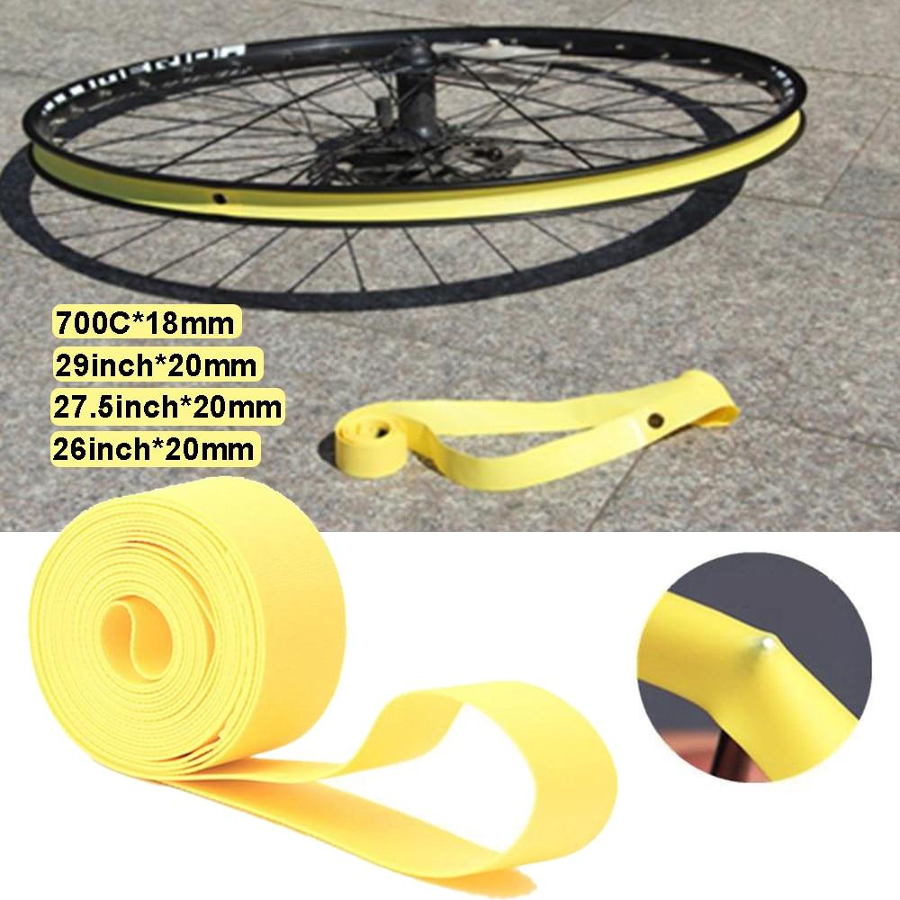 2 uds bicicleta Forro de llanta de bicicleta cinturón a prueba de pinchazos 26/27 5/29 pulgadas de Ciclismo MTB bicicleta de carretera 700C del tubo interno del neumático de almohadilla de protección