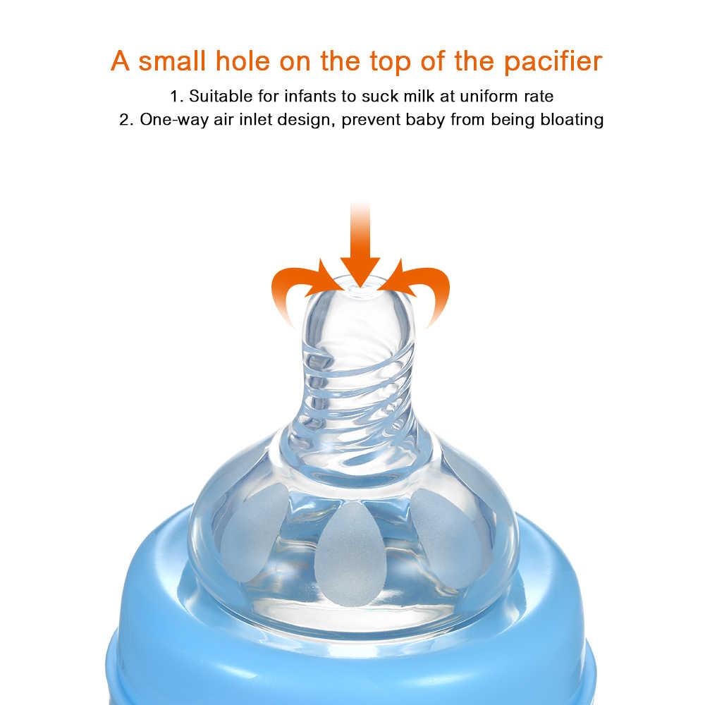 ทารก Breast Feeding ขวด 100ML BPA-ฟรีอ่อนโยนเต้านม Pacifier เด็กนมขวด anti Colic biberon