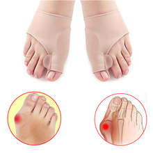 10Pair Big Bone Orthopedic Bunion Correction Pedicure Sock Silicone Hallux Valgus Corrector Brace Toes Separator Feet Care Tools