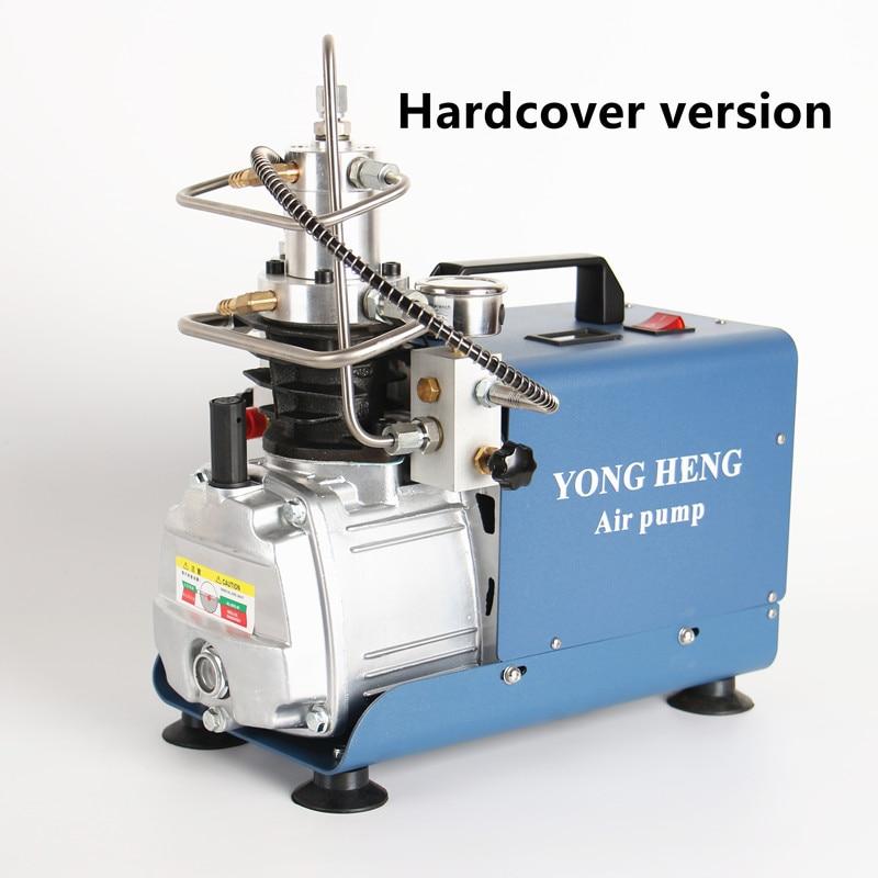 Pompe à Air à haute pression de compresseur d'air électrique de 300BAR 30MPA 4500PSI pour le gonfleur pneumatique de PCP de fusil de plongée d'airgun 220v 110v - 3