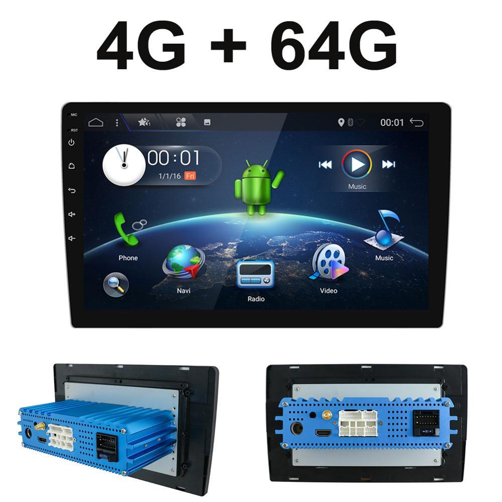 1 din Android 9,0 Восьмиядерный PX6 автомобильный Радио Стерео GPS Navi Аудио Видео плеер блок ПК Wifi BT HDMI AMP 7851 OBD DAB + SWC 4G + 64G
