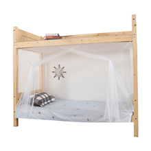 Home Polyester Indoor Student Dormitory Mosquito Net Easy Install Portable School Summer Bedroom Bunk Bed Bedding Accessories