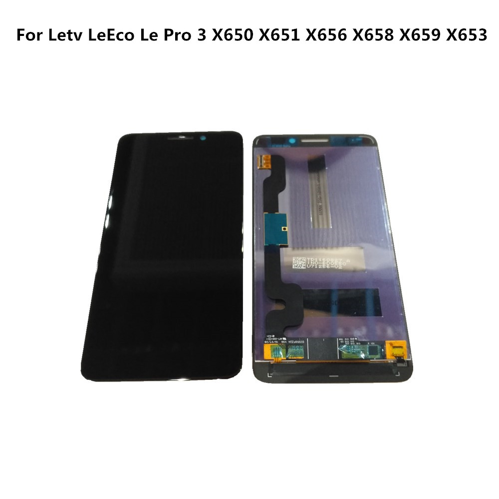 Original For Letv LeEco <font><b>Le</b></font> Pro 3 X650 <font><b>X651</b></font> X656 X658 X659 X653 LCD Display+Touch Digitizer Screen Assembly For For Letv Display image
