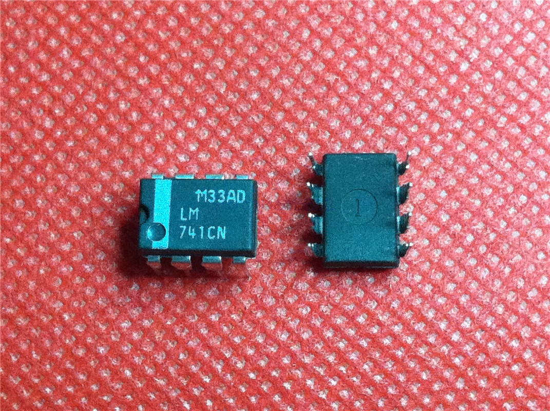 10pcs/lot LM741CN LM741 DIP-8 In Stock