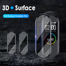 30 PCS Tempered Soft Film For Xiaomi Mi Band 4 Cover Screen Protector Protection Film For Xiaom 4 Band Protective Glass Cases(China)