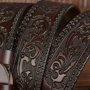 Image 5 - Correia direta da fábrica para mim wholsale preço nova moda designer cinto de alta qualidade cintos de couro genuíno para homens garantia de qualidade