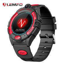 LEMFO 4G inteligentny zegarek dla dzieci GPS WIFI z kamera na kartę SIM Smart Watch dla dziecka dziewczyna chłopiec głos wideo otrzymać telefon zwrotny od dla dzieci zegarek na telefon tanie tanio CN (pochodzenie) Brak Na nadgarstek Zgodna ze wszystkimi 128 MB Krokomierz Rejestrator aktywności fizycznej Rejestrator snu