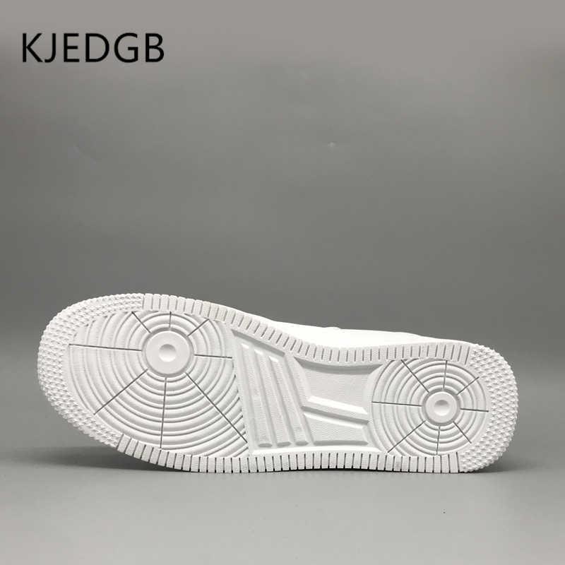 KJEDGB 2019 Classic Heren Sneakers Mesh Comfortabele mannen Schoenen PU Heren Outdoor Casual Lace-Up Schoenen Designer Grote size 39-48