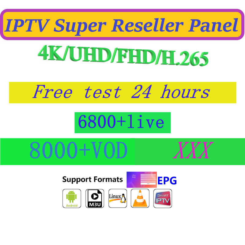 Order link world IPTV Subscription EURO ASIA Arabic Amaerica channels VOD  IOS Android reseller account panel APK M3U MAG BOX