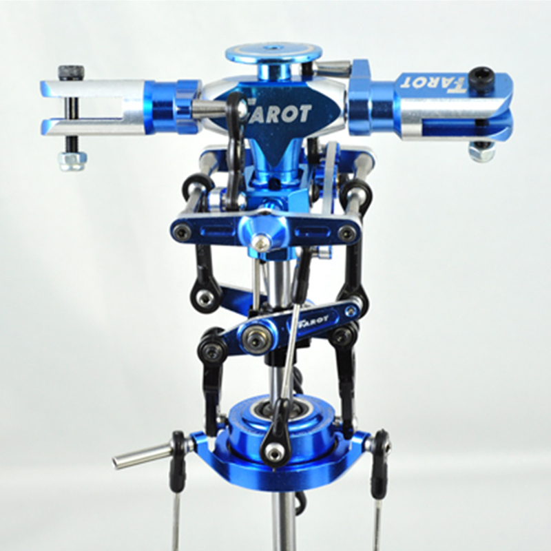 Tarot Metal Main Rotor Head Set (Blue) TL2413 For Tarot 450 Sport Rc Helicopter