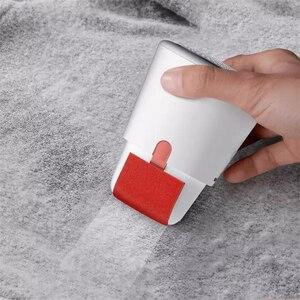 Image 3 - Youpin Deerma 2 في 1 صغيرة المحمولة مزيل الوبر الشعر الكرة المتقلب سترة قطع مزيل مزدوجة رئيس تصميم USB تهمة قابلة للشحن