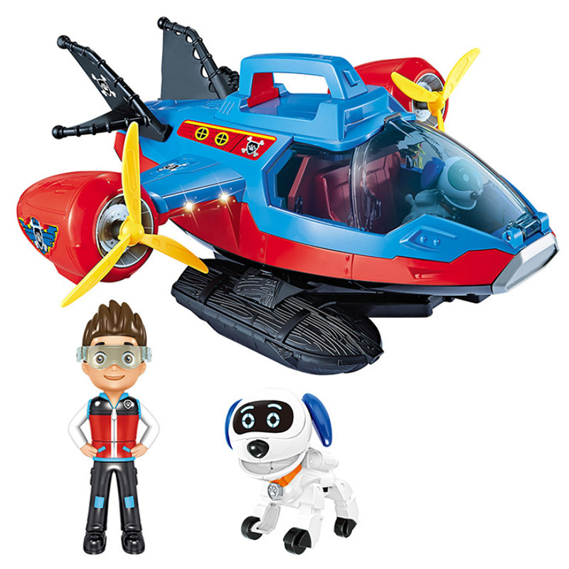 New Paw Patrol Dog Car Toys Mobile Rescue Big Bus Puppy Patrol Observatory Anime Paw Patrols Kid Boy Christmas Gift Toys
