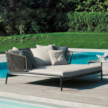 Wholesale Rattan Furniture Wicker Sofa Set 2